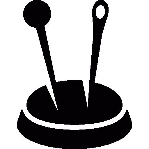 Sewing cushion  free icon