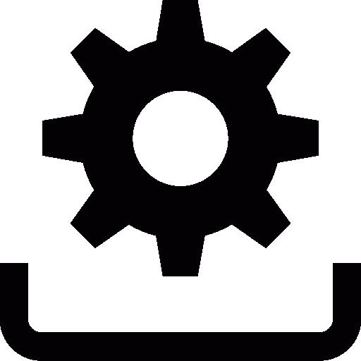 Installation symbol  free icon
