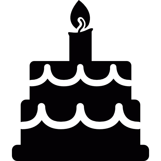 Birthday cake  free icon