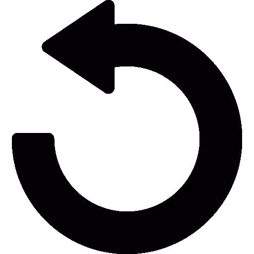 pfeil rückgängig machen  kostenlos Icon
