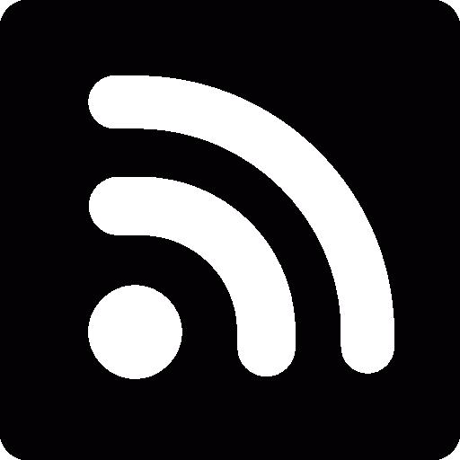 RSS logo  free icon
