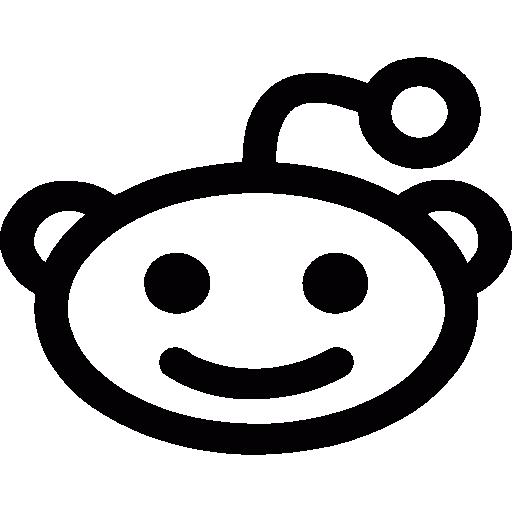 Reddit alien  free icon