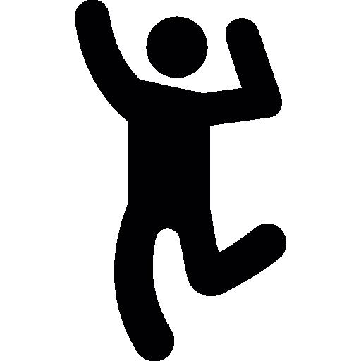 homem dançando  grátis ícone