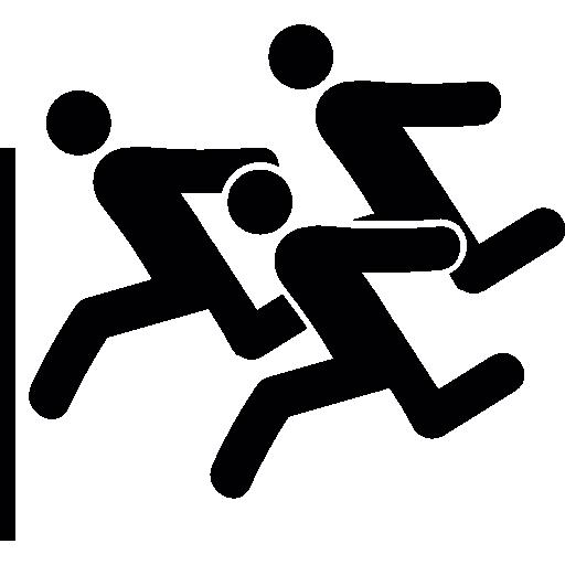 correndo uma corrida  grátis ícone