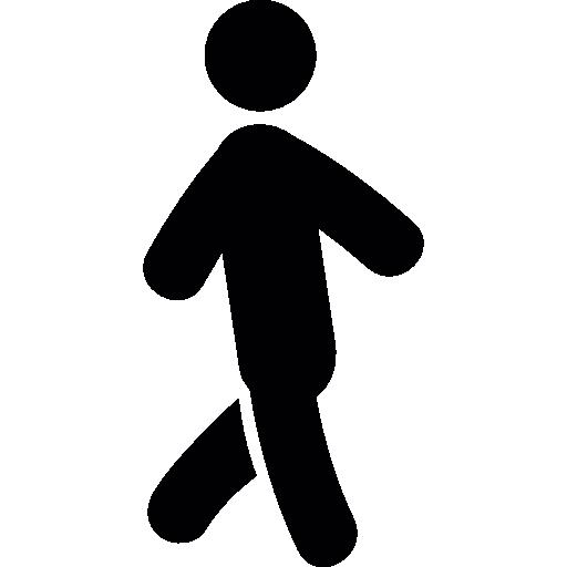 Person walking  free icon