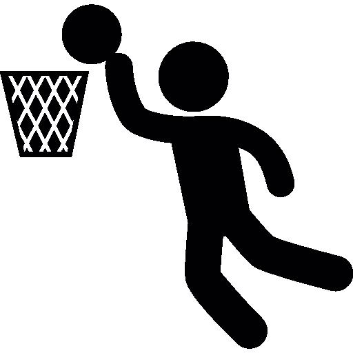 puntuación de jugador de baloncesto  icono gratis