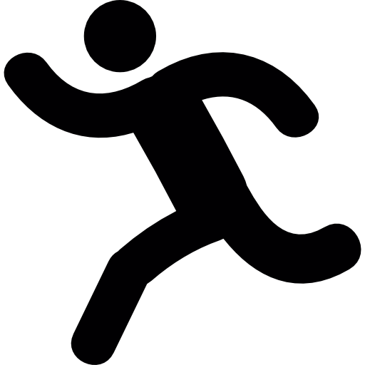 Running person  free icon