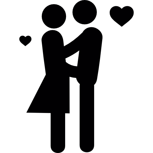 Couple in Love  free icon