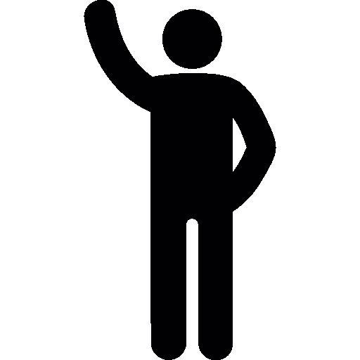 Arm up  free icon