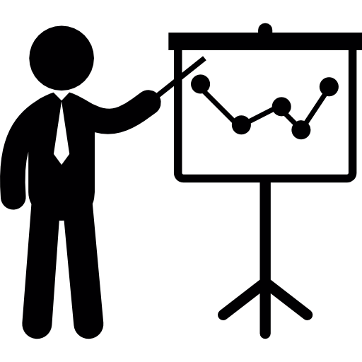 Business exposition  free icon