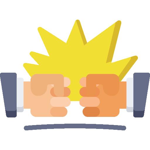 Conflict  free icon