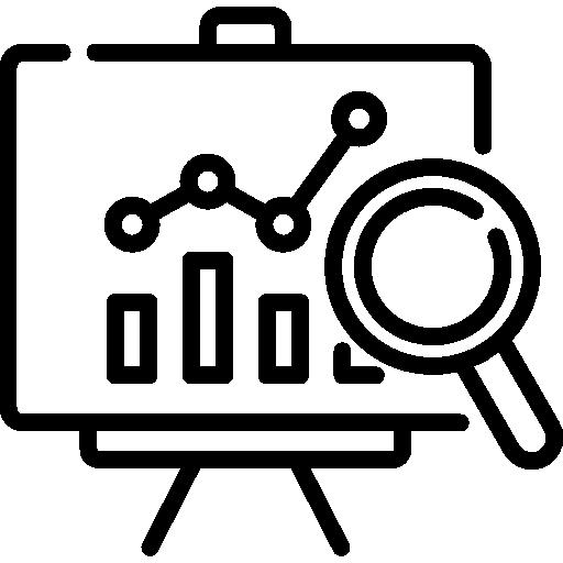 análisis  icono gratis