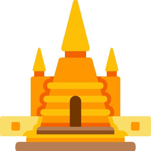 Wat phra kaew  free icon