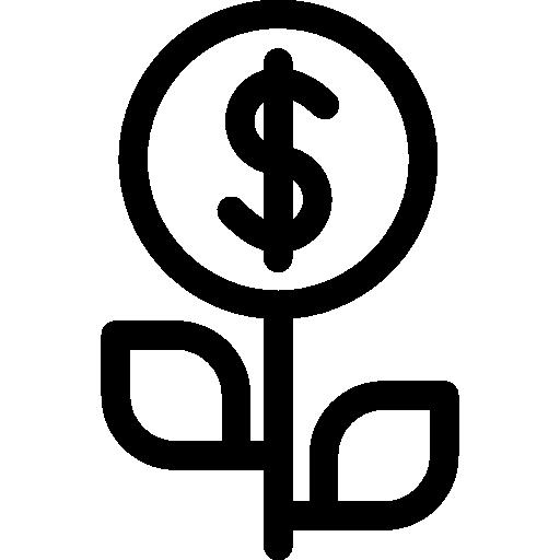 Fund Growth  free icon