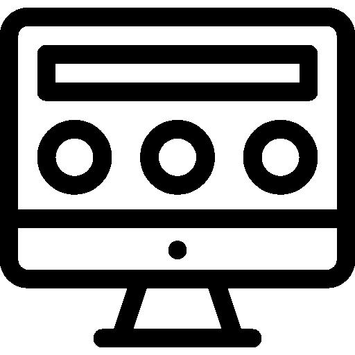 Web Design  free icon