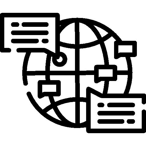 cuadrícula de globo  icono gratis