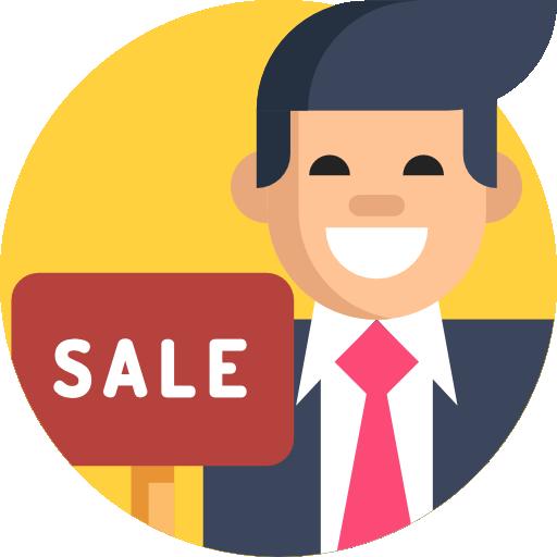 Estate agent  free icon