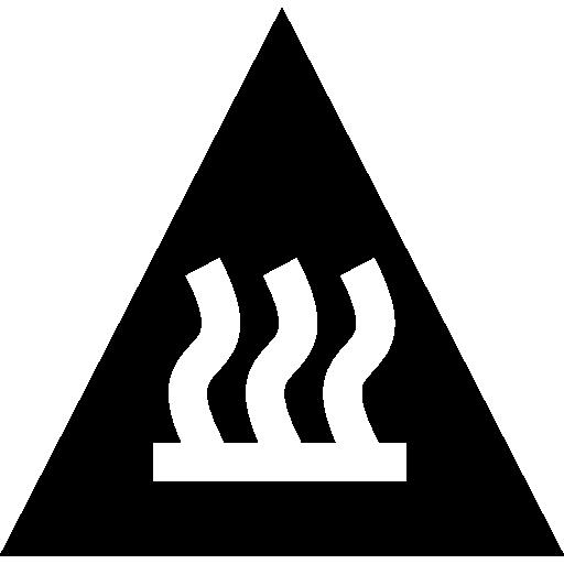 Знак тепла  бесплатно иконка