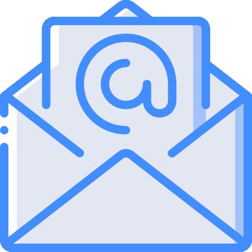 correo electrónico  icono gratis