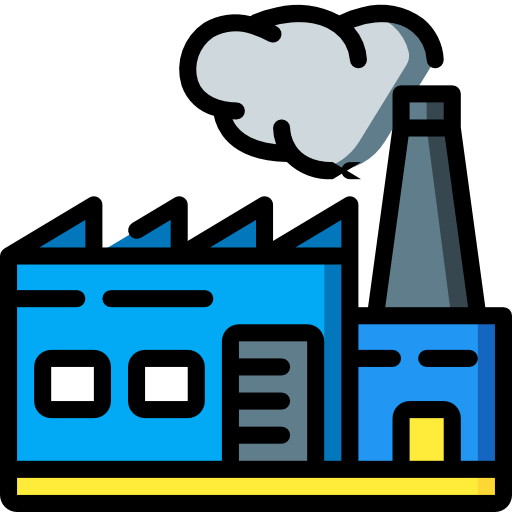 fábrica  icono gratis