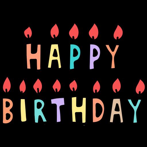 С Днем рожденья  бесплатно иконка