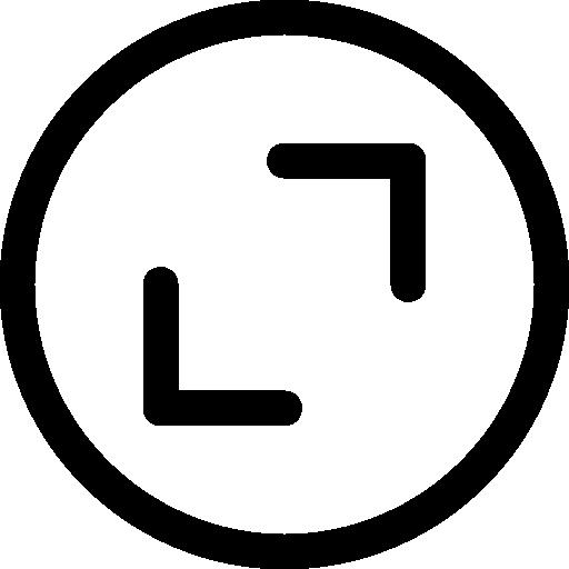 Zoom  free icon
