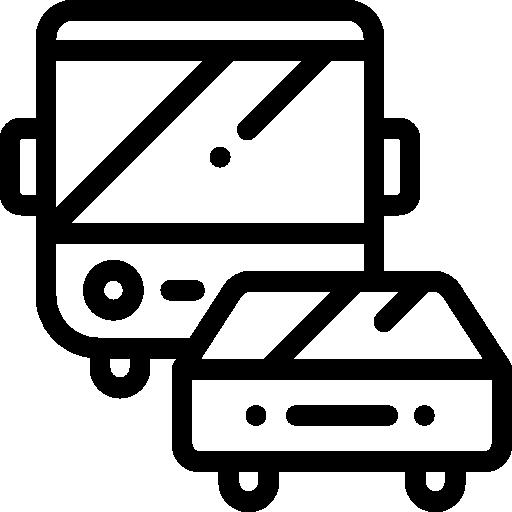 Traffic  free icon