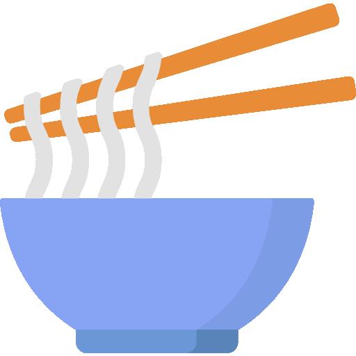 Noodles  free icon