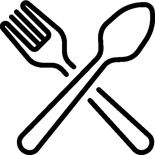 garfo  grátis ícone