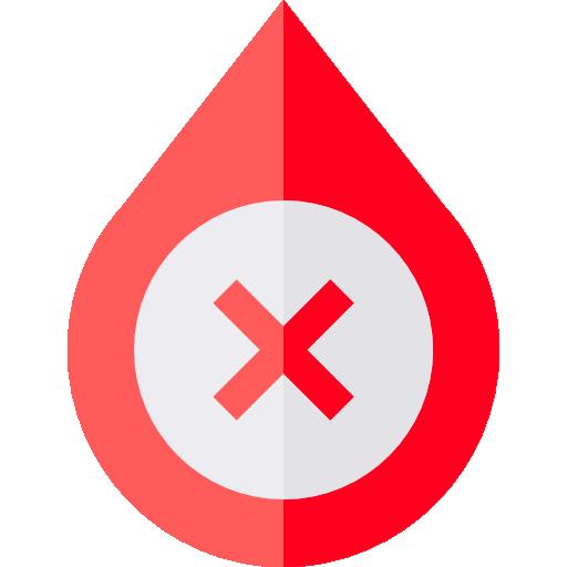Blood  free icon