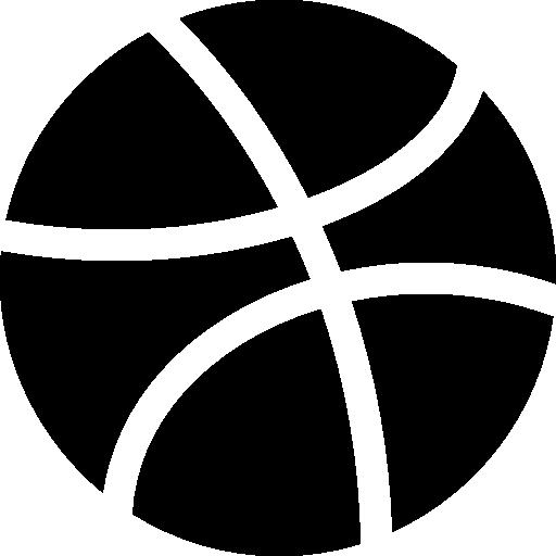 Dribbble  free icon