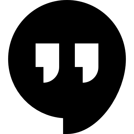 Hangout  free icon