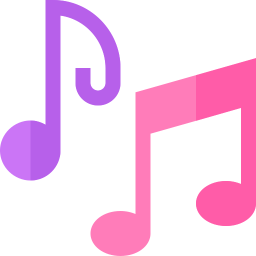 notas musicales  icono gratis