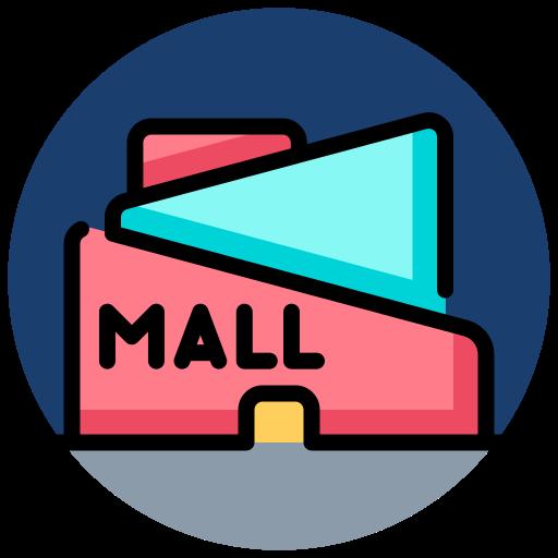 centro comercial  icono gratis