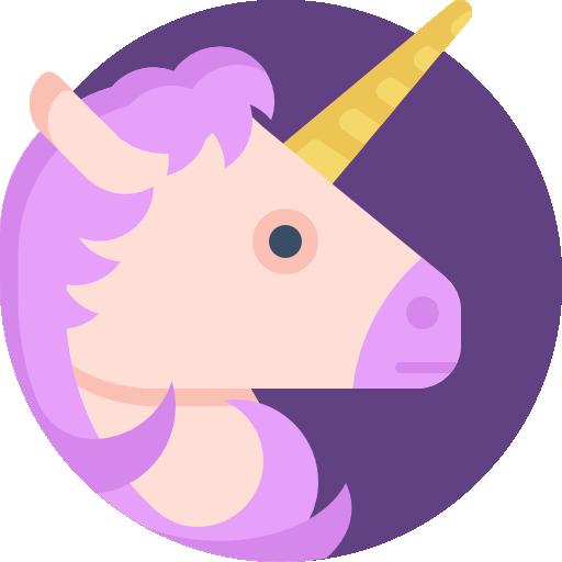 unicornio  icono gratis