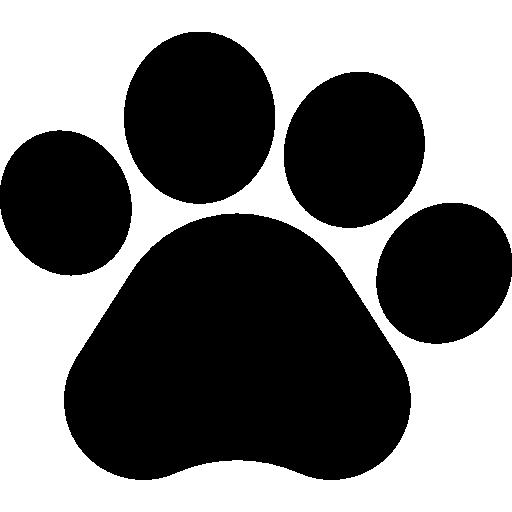 pawprint  бесплатно иконка