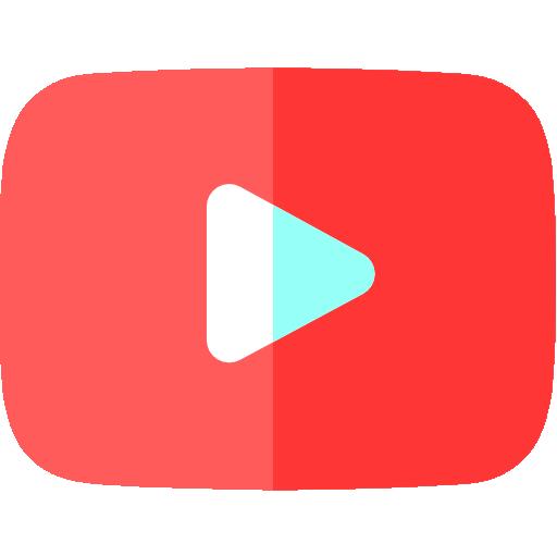 유튜브  무료 아이콘