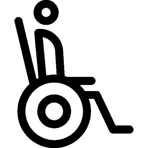 Paraplegic  free icon