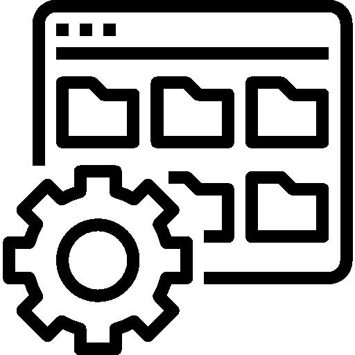 Управление папками  бесплатно иконка
