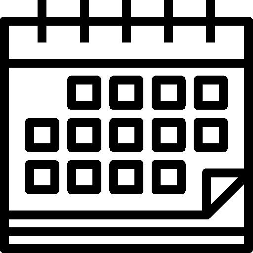 date du calendrier  Icône gratuit