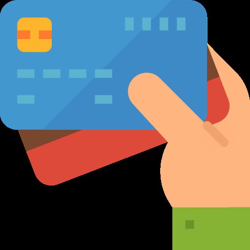 carte de débit  Icône gratuit