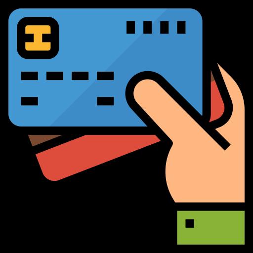 tarjeta de débito  icono gratis