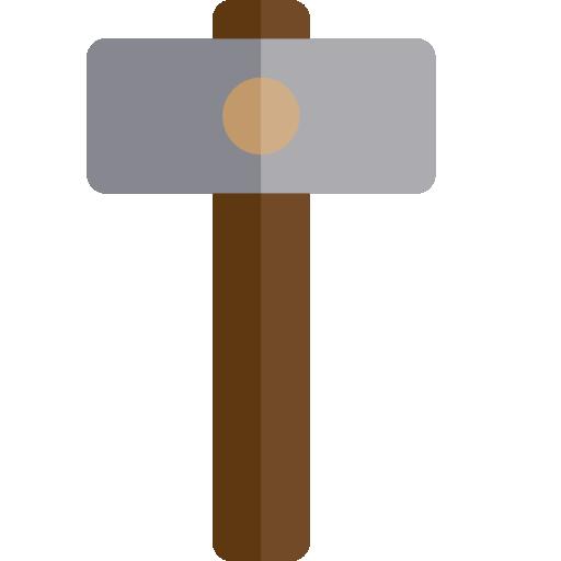 marteau à coup mort  Icône gratuit