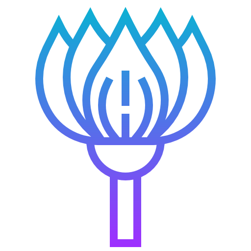 цветок лотоса  бесплатно иконка