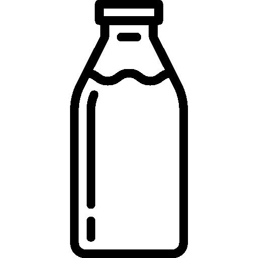Milk bottle  free icon