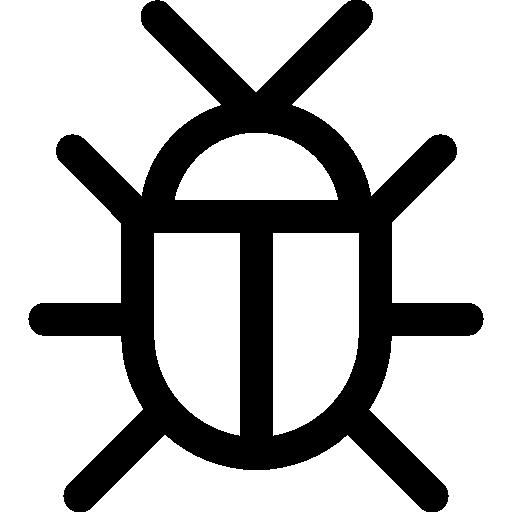 punaise  Icône gratuit