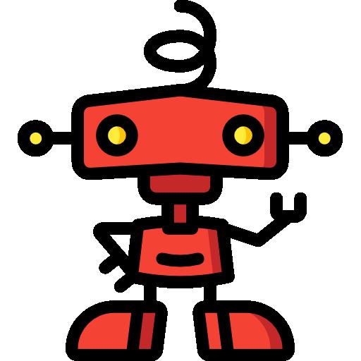 robótica  icono gratis