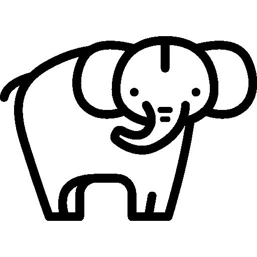 코끼리  무료 아이콘