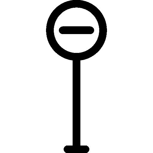 금지 된 방법  무료 아이콘
