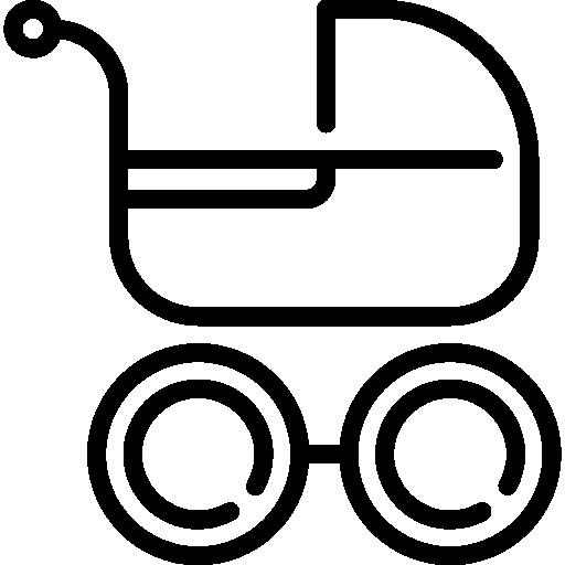 유모차  무료 아이콘